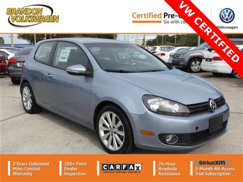 Certified Pre-Owned 2012 Volkswagen Golf TDI